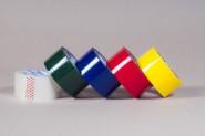 Стрічка клейка кольорова пакувальна
